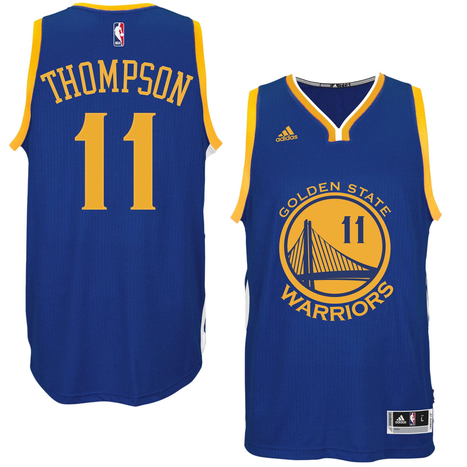 a8aa96ec9 sweden klay thompson golden state warriors nba swingman road replica jersey  adidas 88873 b1707