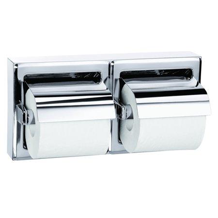 Bradley 5126-000000 Bradex Surface-Mounted Dual Roll Toilet Tissue - Bradley Surface Mount Toilet