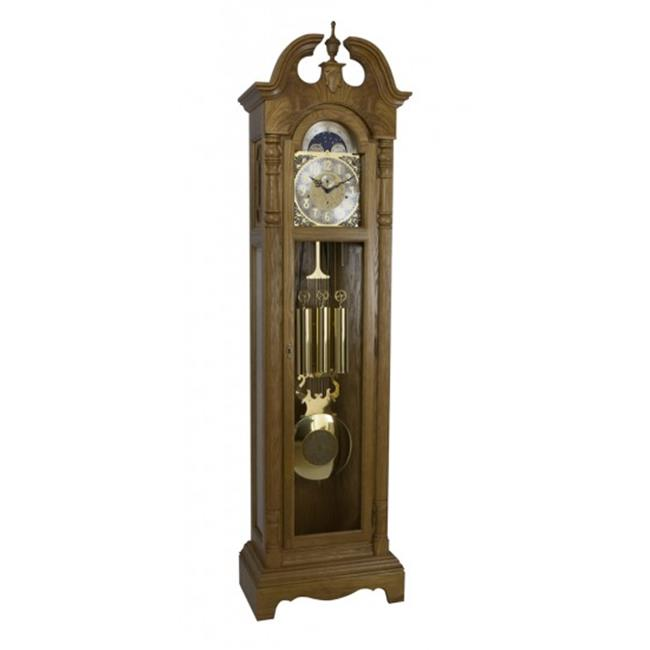 Hermle 010874I91161 Chester Grandfather Clock Light Oak by Hermle