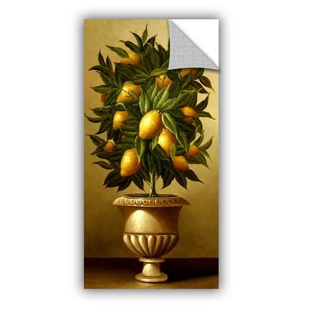 Lemons Topiary - Lemon Topiary In Marble Urn