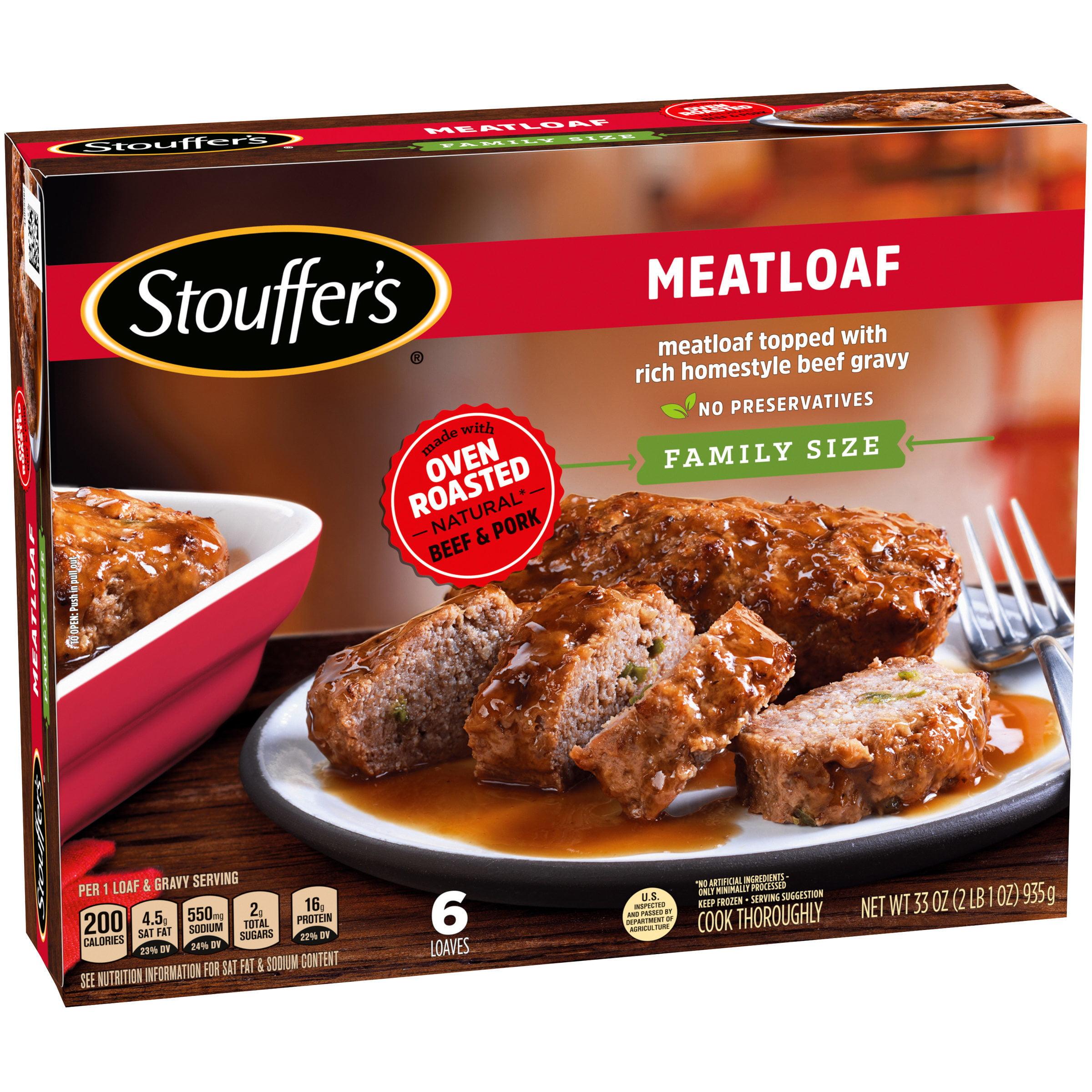 STOUFFER'S Family Size Meatloaf 33 oz. Box - Walmart.com - Walmart.com