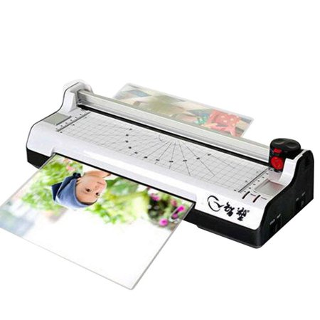 Cold Laminating - Professional Office Hot and Cold Fast Warm-Up Roll A4 9