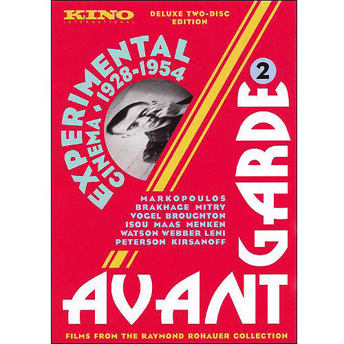Avant-Garde 2: Experimental Cinema Of The 1928 - 1954 (2-Disc): Geography Of The Body / The Mechanics Of Love / ...