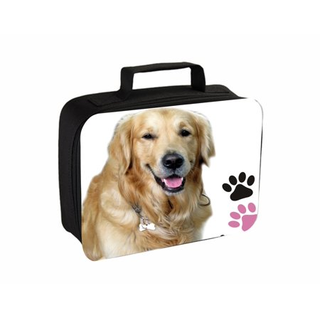 Golden Retriever And Paw Prints Jacks Outlet TM Travel Toiletry Bag with Hanger