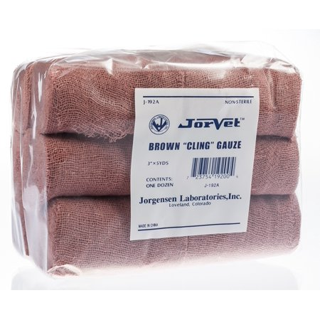 Brown Gauze (Brown Cling Gauze, 3