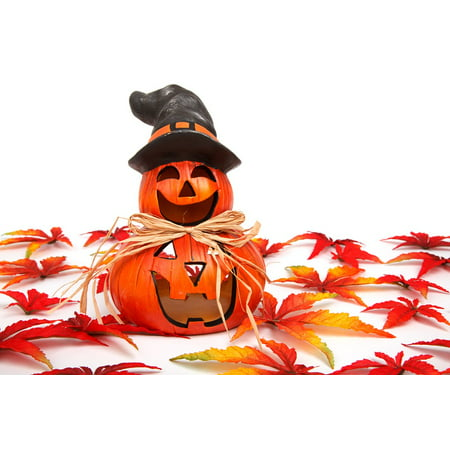 LAMINATED POSTER Fall Face Decoration Halloween Gourd Autumn Funny Poster Print 24 x 36 - Halloween Gourd Decorating Ideas