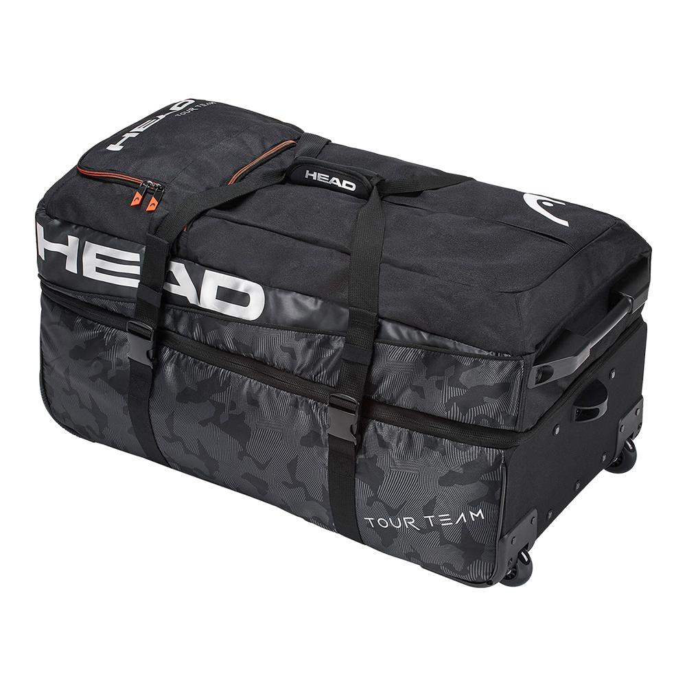 Tour Team Travel Tennis Bag Black and Silver by Head