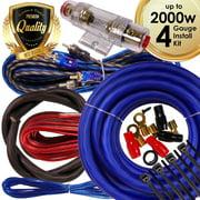 Best BOSS Amp Wiring Kits - Complete 2000W Gravity 4 Gauge Amplifier Installation Wiring Review