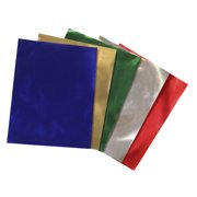 Hygloss Metallic Foil Paper, 8-1/2 X 10 in, 24 Sheets, Assorted Color, Pack of 24