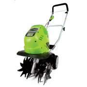 Greenworks 10-Inch 40V Cordless Cultivator, Battery Not Included 27062A