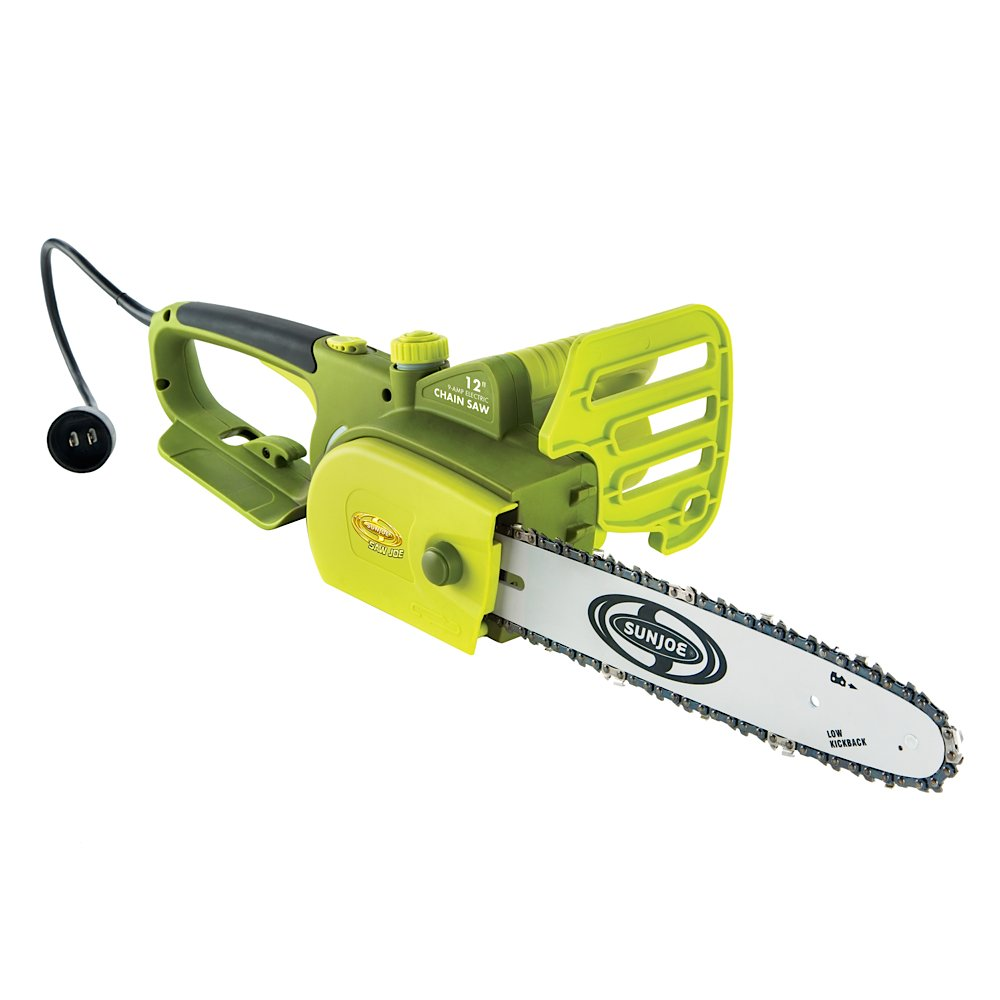 "Snow Joe SWJ698E 12"" 9amp Trimmer Chain Saw"