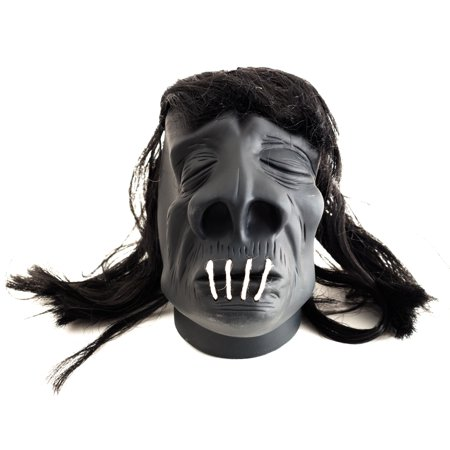 Styrofoam Head Halloween Decorations (Loftus Halloween VooDoo Shrunken Head 4.5