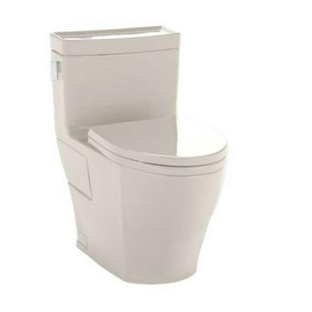 Toto Legato Elongated 1 Piece Toilet MS624214CEFG#03 Bone