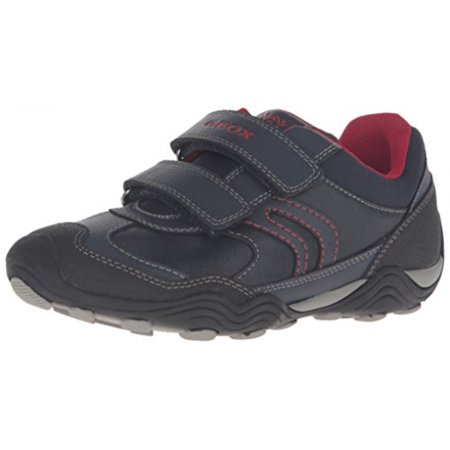 finest selection e616b 20208 Geox - Geox Boys' Jr Arno 14-K Sneaker, Navy/Red, 28 EU(10.5 ...