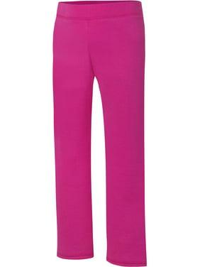 Hanes ComfortSoft EcoSmart Girls' Open Bottom Leg Sweatpants(Little Girls & Big Girls)