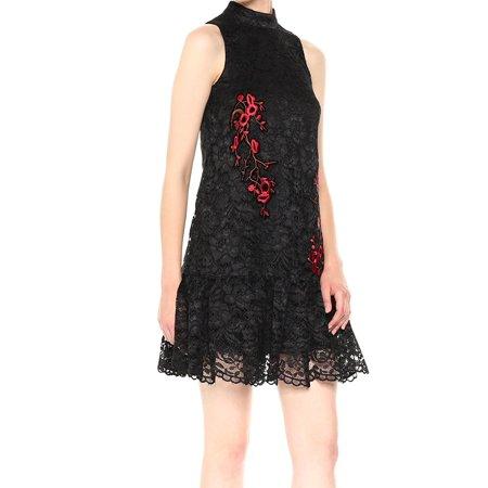 e1e992ad1058d7 Nicole Miller Dresses - Nicole Miller Women's Embroidered Lace Shift Dress  - Walmart.com