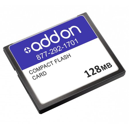 - AddOn - flash memory card - 128 MB - CompactFlash