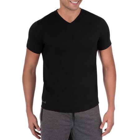 Big Men's Performance Activewear Short Sleeve V-Neck Tee ()