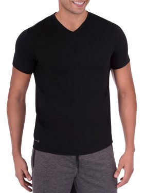 98e16537924 Product Image Big Men s Performance Activewear Short Sleeve V-Neck Tee