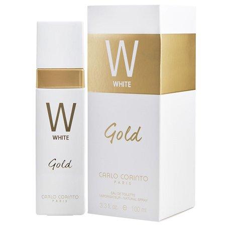 - WHITE GOLD * Carlo Corinto 3.3 oz / 100 ml Eau de Toilette Women Perfume Spray