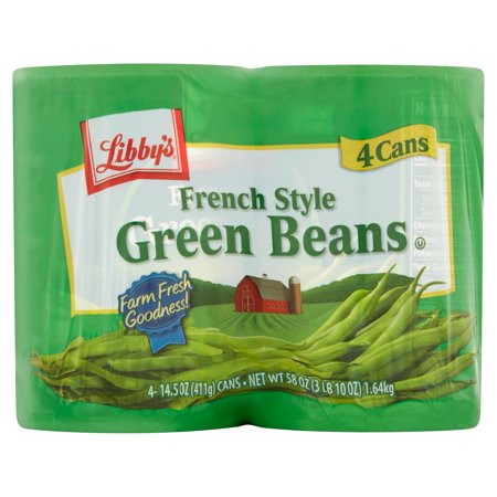 Backpackers Pantry Green Bean - (8 Cans) Libby's French Style Green Beans, 14.5 Oz