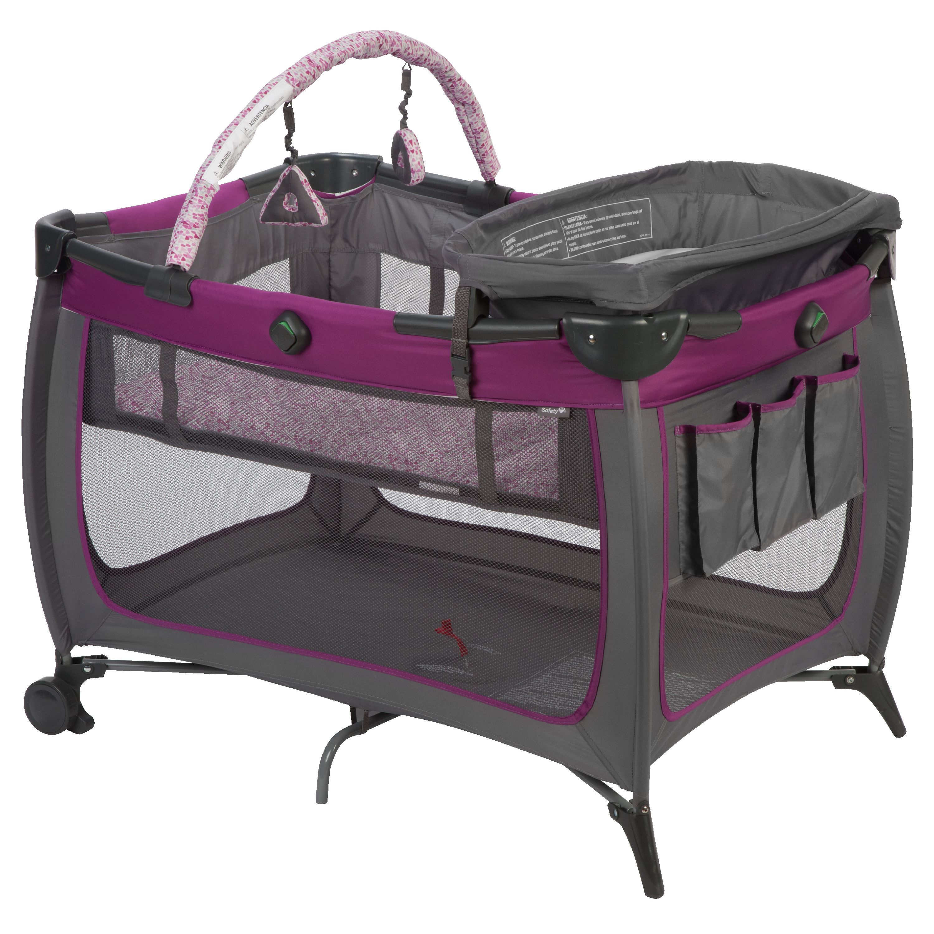 Safety 1st Prelude™ Portable Baby Play Yard, Sorbet