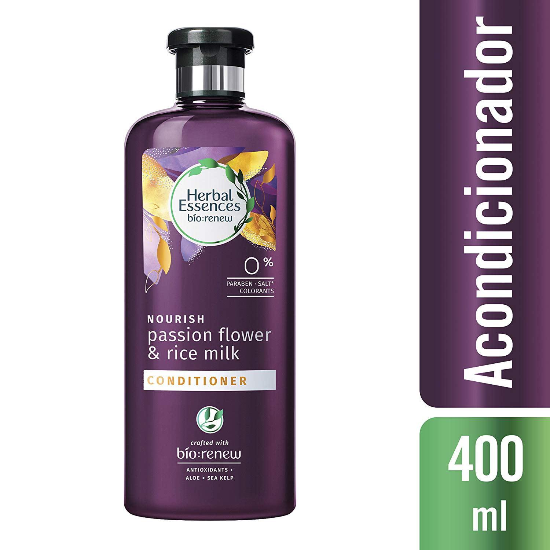 3 Pack Herbal Essences Passion Flower & Rice Milk Conditioner, 13.5oz Each