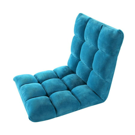 Terrific Chic Home Lounge Adjustable Recliner Rocker Memory Foam Armless Floor Gaming Ergonomic Chair Teal Gmtry Best Dining Table And Chair Ideas Images Gmtryco