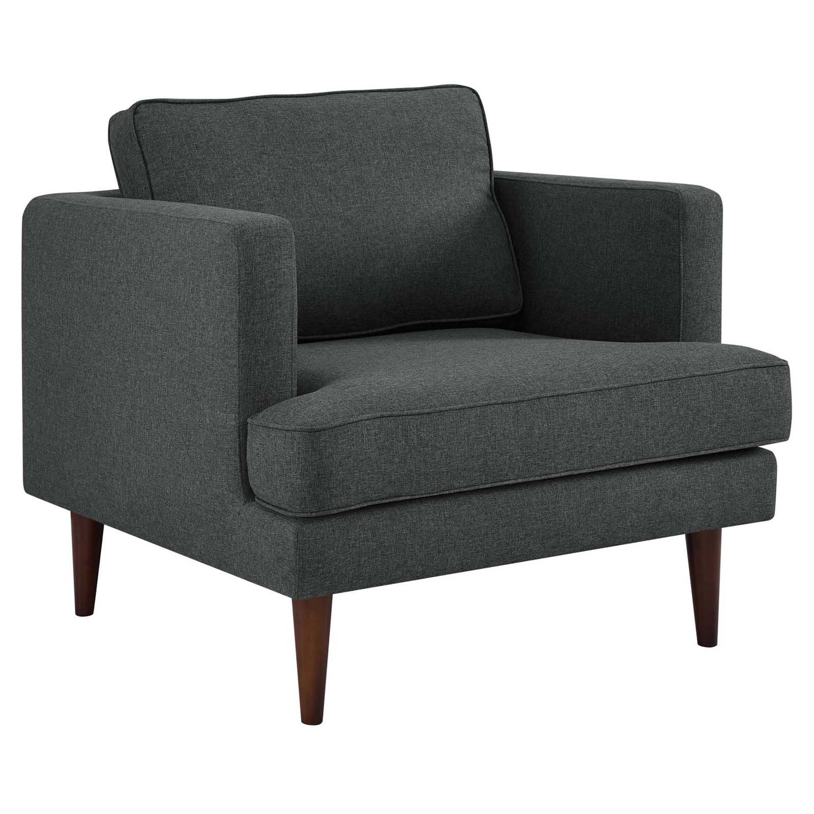 Modway Agile Fabric Upholstered Armchair, Multiple Colors