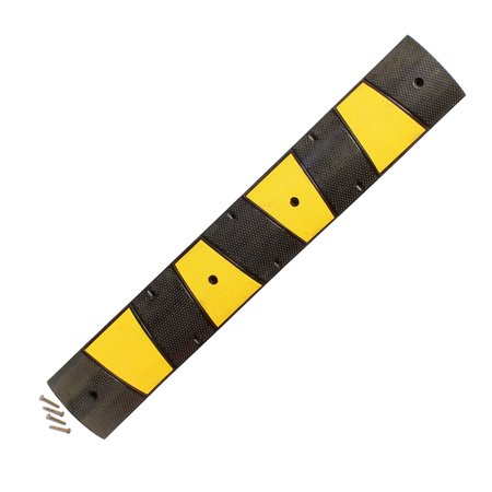 BISupply | 6 FT Speed Bump – Drive Over Cord Protector Rubber Speed (Speed Rubber)