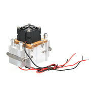 DIY 12V TEC Electronic Peltier Semiconductor Thermoelectric Cooler DIY Refrigerator Water-cooling Air Condition Movement Cooling System for Refrigeration and Fan