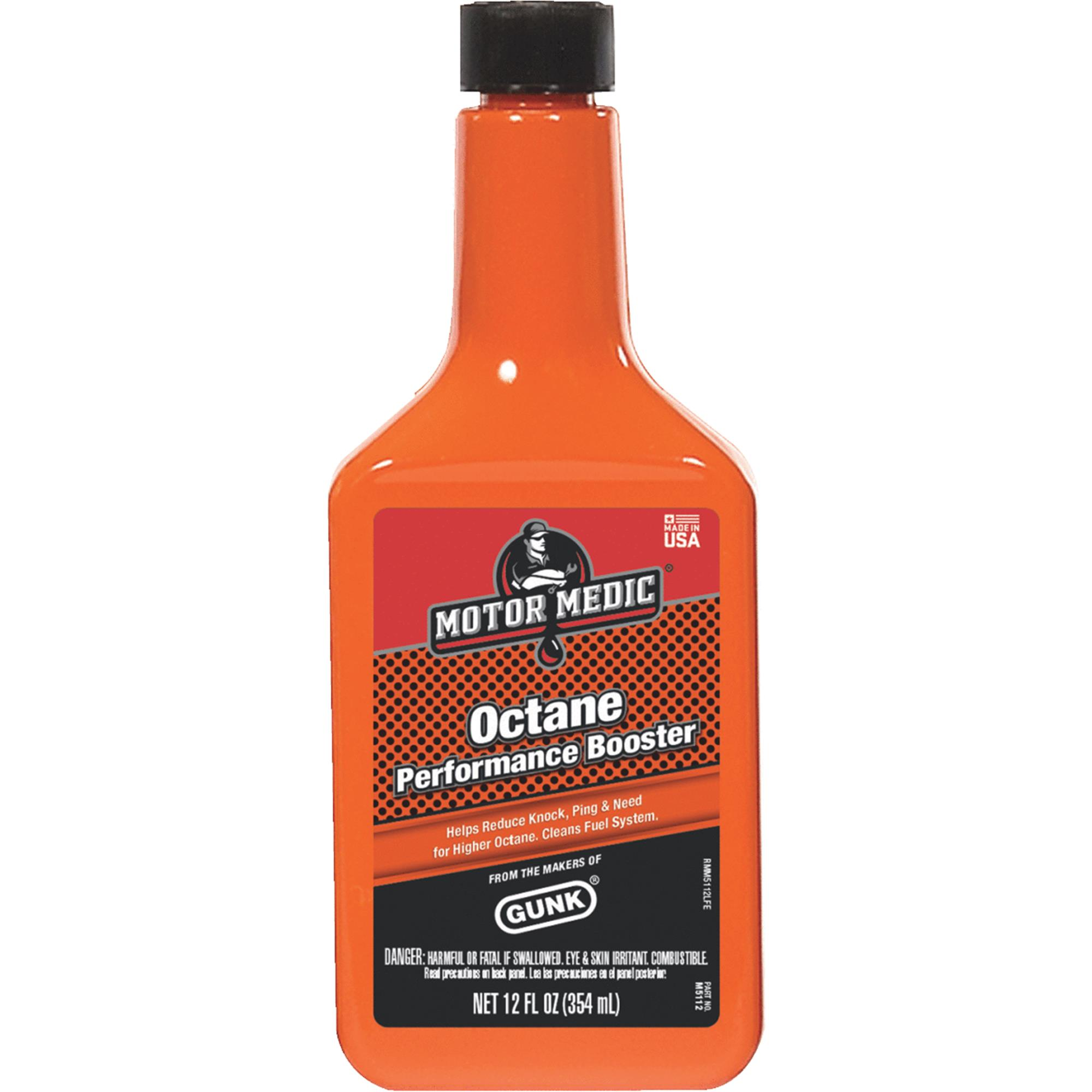 MotorMedic Octane Booster Gas Treatment