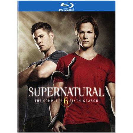 Supernatural  The Complete Sixth Season  Blu Ray