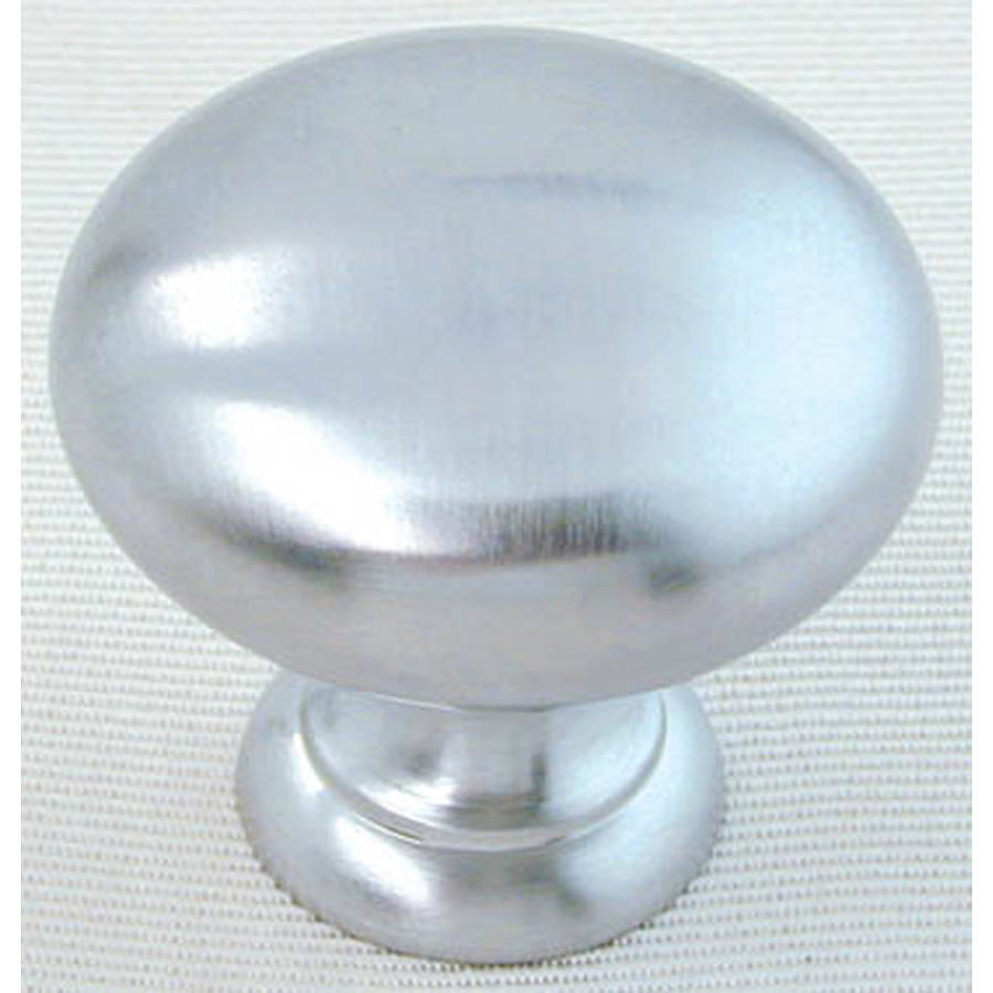 "Ultra Hardware 41778R1 1-1/4"" Satin Chrome Knob"