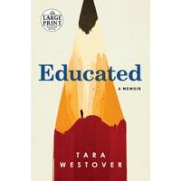 Educated - Paperback (Large Print)