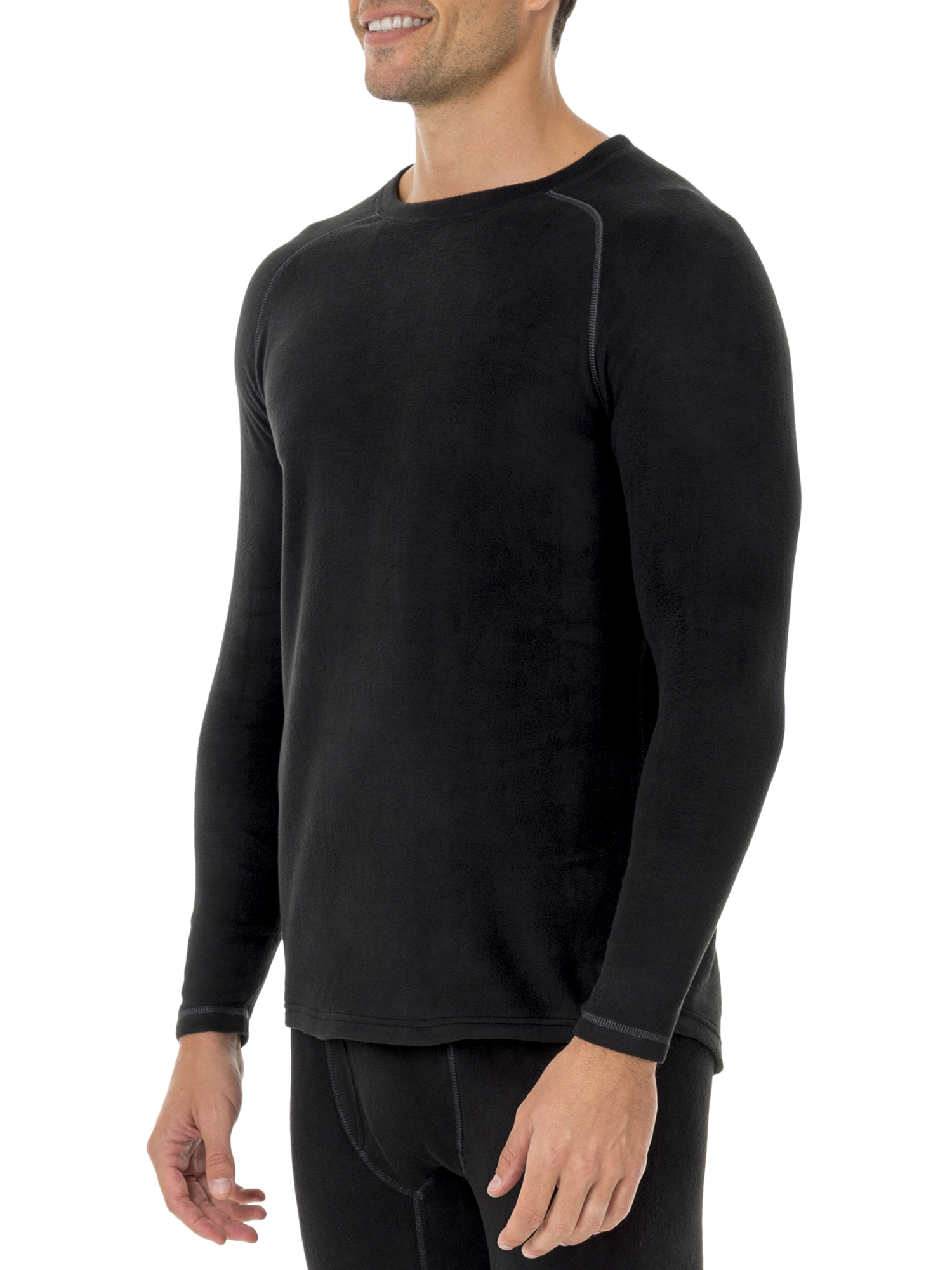 Big Men's ThermaForce Stretch Fleece Baselayer Thermal L4 Shirt