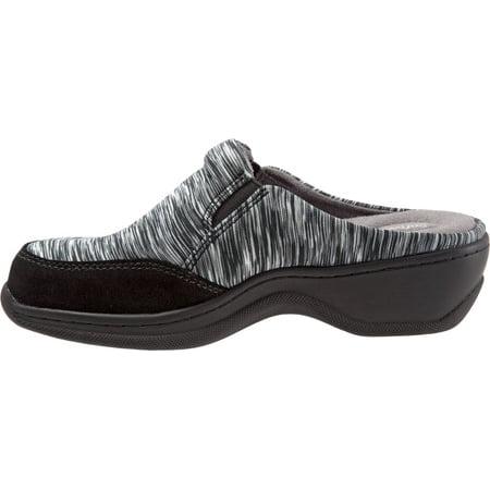 Women's SoftWalk Alcon Clog Black/Grey Textile 12 N - image 4 of 8