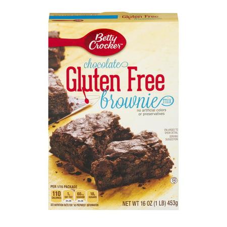 Betty Crocker ® Gluten Free Brownie Mix Chocolate 16.0 oz Box, 16.0 OZ