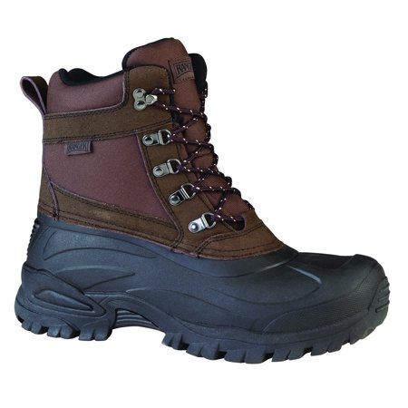 Thinsulate Winter Boots (Ranger Cabot 9' Men's Suede & Nylon Thinsulate Winter Boots, Coffee Bean & Black)