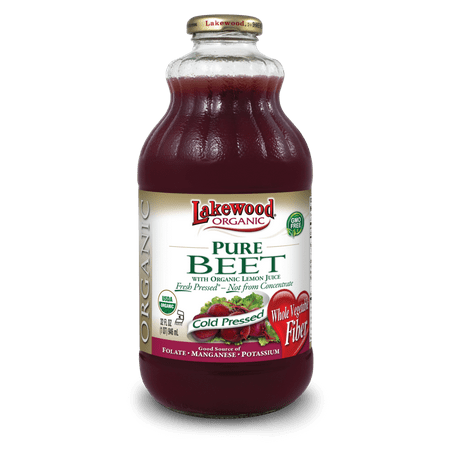 Lakewood Organic Juice, Pure Beet, 32 Fl Oz, 1 Count