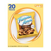 Kellogg's Famous Amos Chocolate Chip Cookies 1.2 oz 20 ct