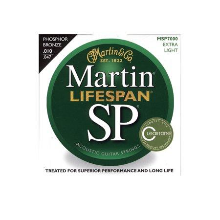 Acoustic Extra Light (Martin Lifespan Extra Light Phosphor Bronze Acoustic Guitar Strings 10-47 )
