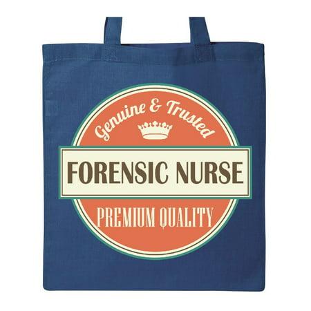 Nurse Tote Bag (Forensic Nurse Funny Gift Idea Tote)