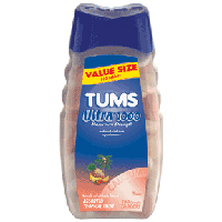 Tums® Ultra Strength 1000 Tropical Fruit Antacid Chewable Tablets 160 ct Bottle