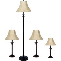 Deals on Better Homes and Gardens 4-Piece Lamp Set