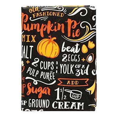 vinyl peva tablecloth chalkboard pumpkin pie recipe 52x70 inches