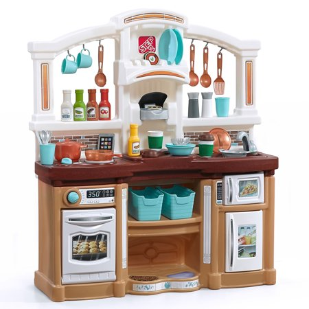Step2 Fun with Friends Kids Play Kitchen with 38 Piece Accessory (Best Childrens Play Kitchen)