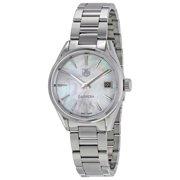 Tag Heuer Carrera Mother of Pearl Dial Ladies Watch WAR1311.BA0778