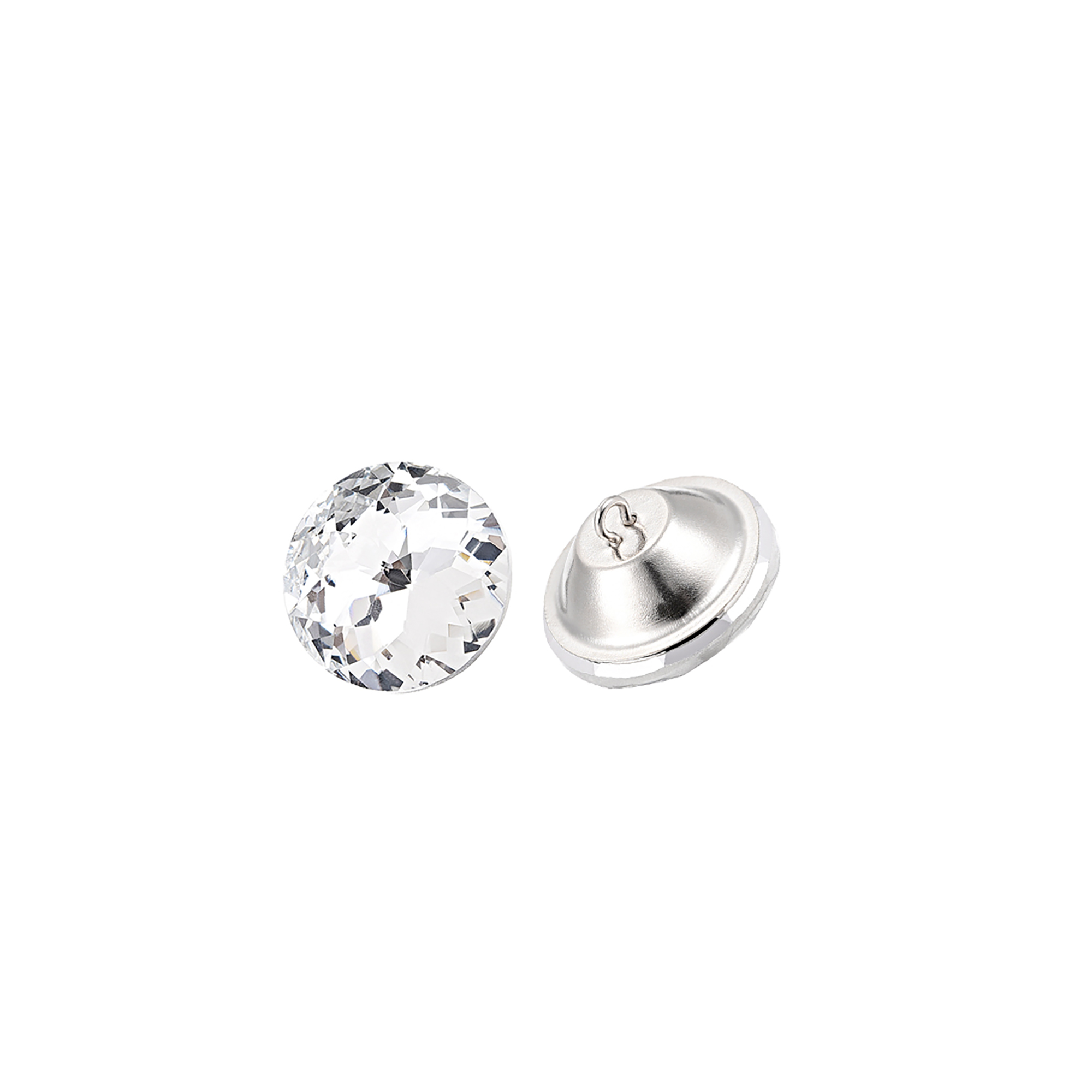 Crystal Upholstery Buttons 20mmx16mm for Sewing Sofa Bed ...