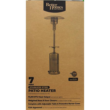 Better Homes And Gardens Large Patio Heater Best Patio